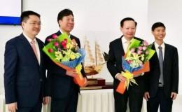 严鉴铂董事长应邀出访越南长海汽车集团