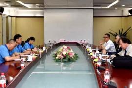 伊顿集团副总裁罗杰里奥·布兰克访问法士特