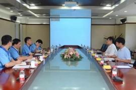 康胜润滑油(上海)有限公司客人访问法士特