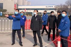 西安市委常委、高新区党工委书记钟洪江到法士特调研疫情防控工作