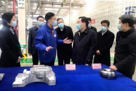 陕西省委书记胡和平调研法士特咸阳产业基地