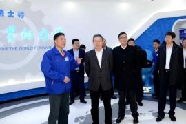 一汽解放汽车有限公司党委书记、董事长胡汉杰一行莅临法士特访问