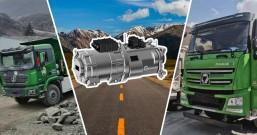 法士特新能源配套纯电动自卸车驰骋川藏线